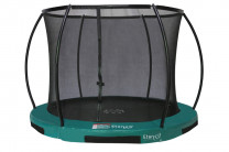 Inground 250 cm Hi-Flyer 08 Combi inkl. Netz - Etan Bodentrampolin