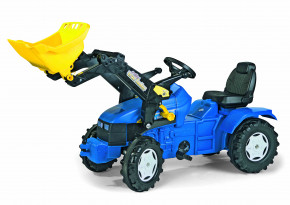rolly toys - rollyFarmtrac New Holland blau inkl. Ladeschaufel-- Farmtrac Classic