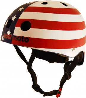 Stars and Stripes - Größe M -  USA Flagge Helm von Kiddimoto
