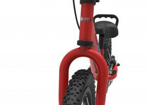 Super Junior MAX Red -  Laufrad von Kiddimoto