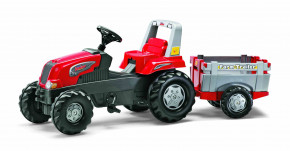 rolly toys - rollyJunior RT rot inkl. Anhänger