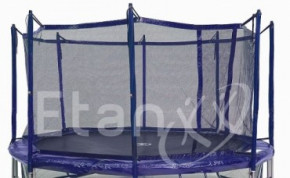 Jumpfree Exclusive Trampolin Sicherheitsnetz Blau 370