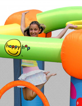 Hüpfburg HappyHop Party Slide Art. 9070 inkl. Gebläse SW-1,5E
