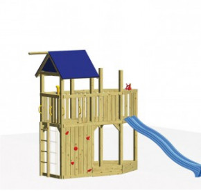 WINNETOO Spielturm Set 7 CORSAR - Holz