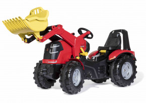 rolly toys - rollyX-Trac Premium rot mit Ladeschaufel