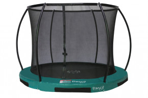 Inground 370 cm Hi-Flyer 12 - Combi mit Netz Etan Bodentrampolin