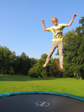 Premium Inground SOLO - 250 cm Gold 08 - Etan Trampolin