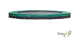 Etan Inground Trampolin Premium Gold Grün 370