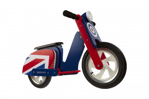 Scooter Retro - Brit Pop -  Laufrad von Kiddimoto