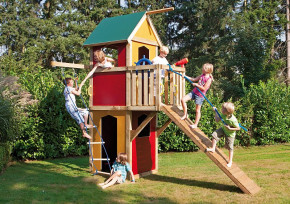 WINNETOO Spielturm bunt GP834