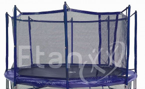 Jumpfree Exclusive Trampolin Sicherheitsnetz 430 Blau