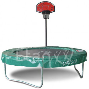 Trampolin Basketballkorb OHNE Ball - Top Shot Pass