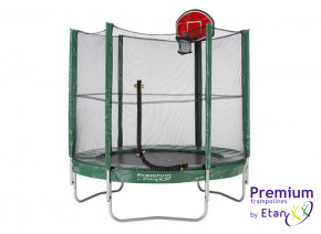 Trampolin Basketballkorb inkl. Ball - Top Shot Pass