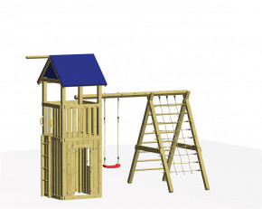 WINNETOO Spielturm Set 6 EVEREST - Holz