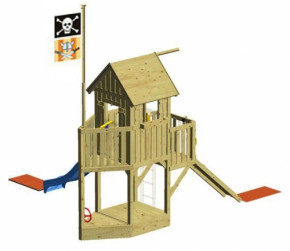 WINNETOO Spielturm GP706 Piratenschiff- Holz