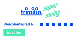 trimilin-superswing blau 181 - Minitrampolin mit Gummikabel